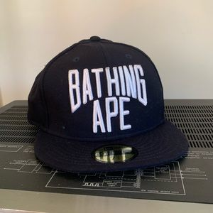 Bathing Ape/BAPE fitted, size 7.5 NWT